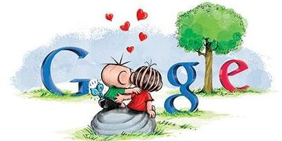 Imagem de Google cria logo para comemorar o Dia dos Namorados no site TecMundo