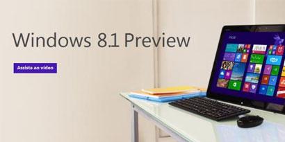 Imagem de Windows 8.1 Preview já está disponível para download no site TecMundo