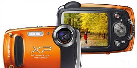Imagem de Análise: câmera Fujifilm Finepix XP50 no site TecMundo