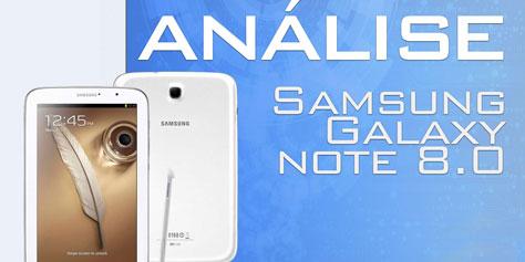 Imagem de Análise: tablet Samsung Galaxy Note 8.0 [vídeo] no site TecMundo