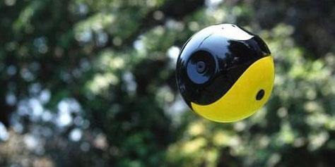 Imagem de Squito: a câmera que também é uma bola no site TecMundo