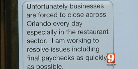 Imagem de Trabalhadores são demitidos de restaurante através de SMS do chefe no site TecMundo