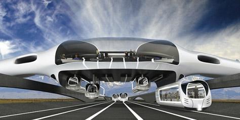 Imagem de Horizon: conceito híbrido de trem e avião pode ser o futuro do transporte no site TecMundo