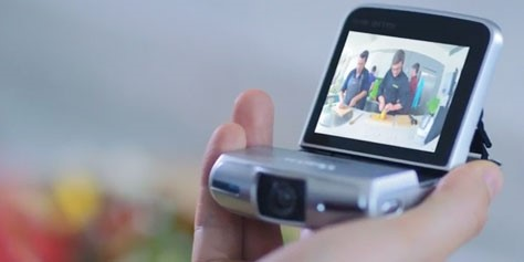 Imagem de Canon Vixia mini: nova câmera é perfeita para filmar a si mesmo no site TecMundo