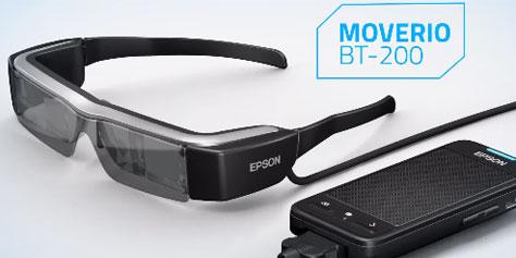 Imagem de Moverio BT-200: os novos óculos inteligentes da Epson no site TecMundo