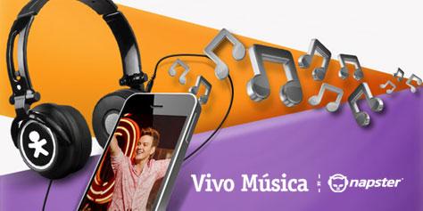 Imagem de Testamos o Vivo Música by Napster no site TecMundo