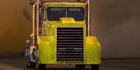 Imagem de Conheça o caminhão com turbinas mais rápido do mundo no site TecMundo