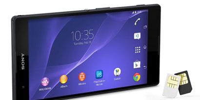 Imagem de Sony apresenta o smartphone Xperia T2 Ultra Dual durante a MWC 2014 no site TecMundo