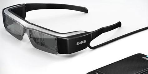 Imagem de Confira mais detalhes do Moverio BT-200, óculos inteligentes da Epson no site TecMundo