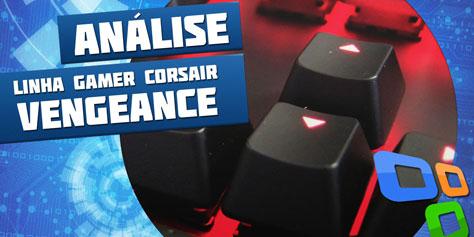 Imagem de Análise: linha de periféricos gamer Corsair Vengeance [vídeo] no site TecMundo