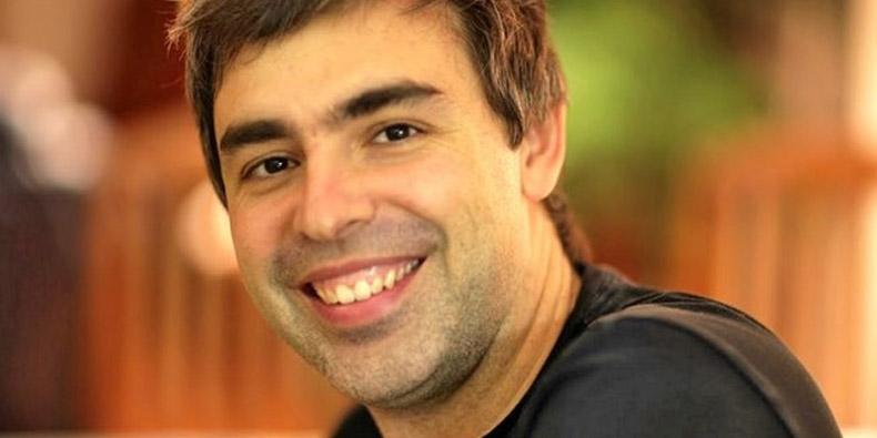 Imagem de Larry Page recebeu apenas US$ 1 da Google em 2013 no site TecMundo