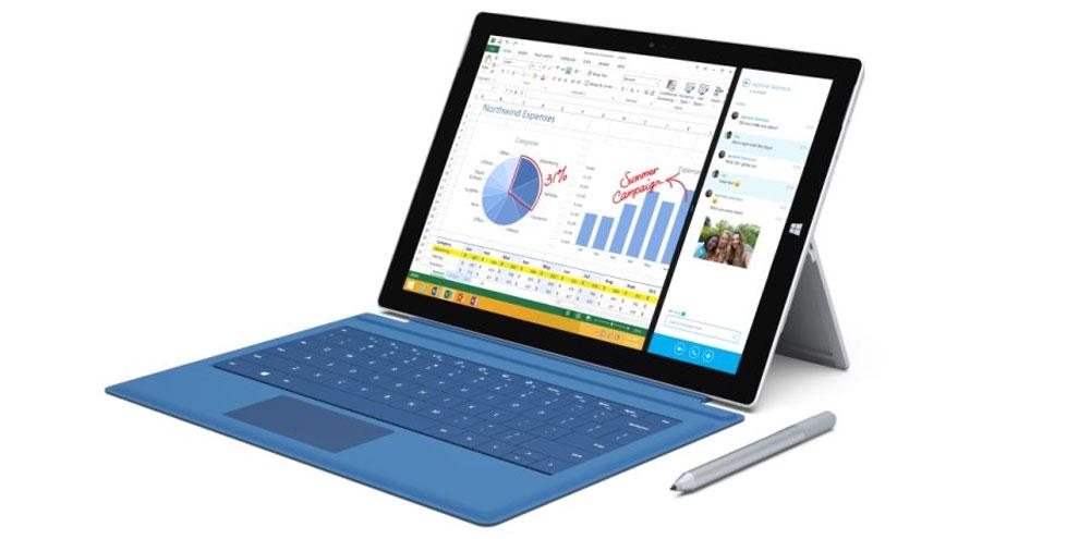 Imagem de Microsoft Surface Pro 3 ganha docking station e nova Type Cover no site TecMundo