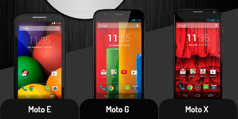Imagem de Comparação: veja as diferenças entre Moto E, Moto G e Moto X [vídeo] no site TecMundo