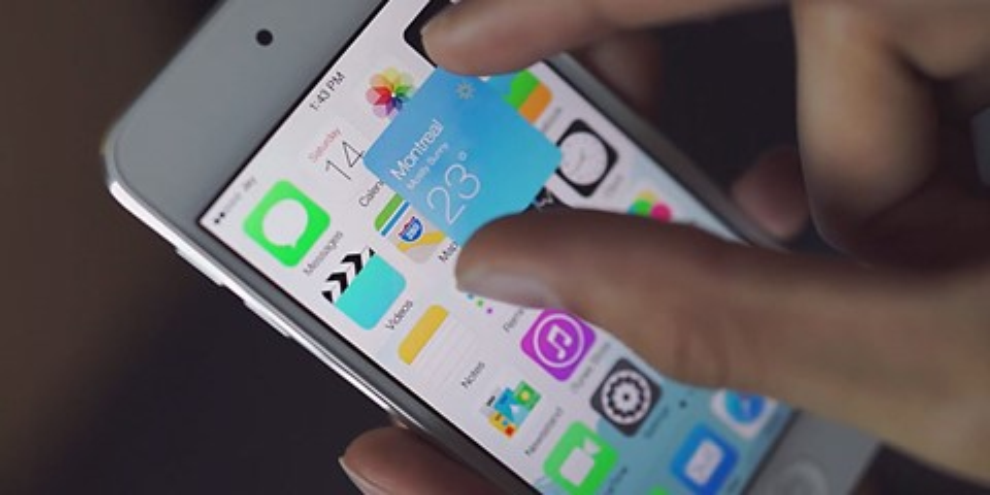Imagem de Conceito mostra como a Apple poderia adicionar widgets ao iOS [vídeo] no site TecMundo