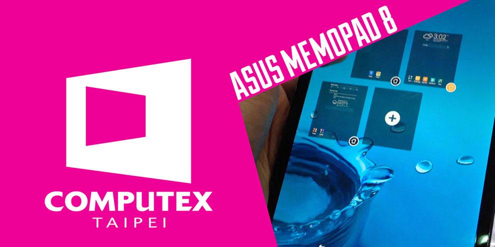Imagem de Primeiras impressões: tablet ASUS MeMO Pad 8 [vídeo] no site TecMundo