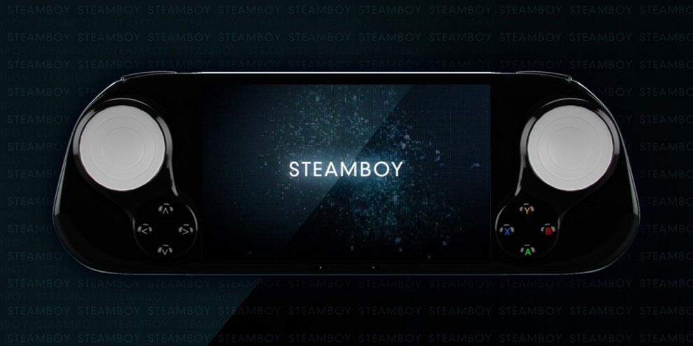 Imagem de SteamBoy, a Steam Machine de bolso no site TecMundo