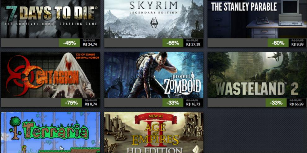 Imagem de Confira as ofertas do terceiro dia da Promoção de Férias do Steam no site TecMundo