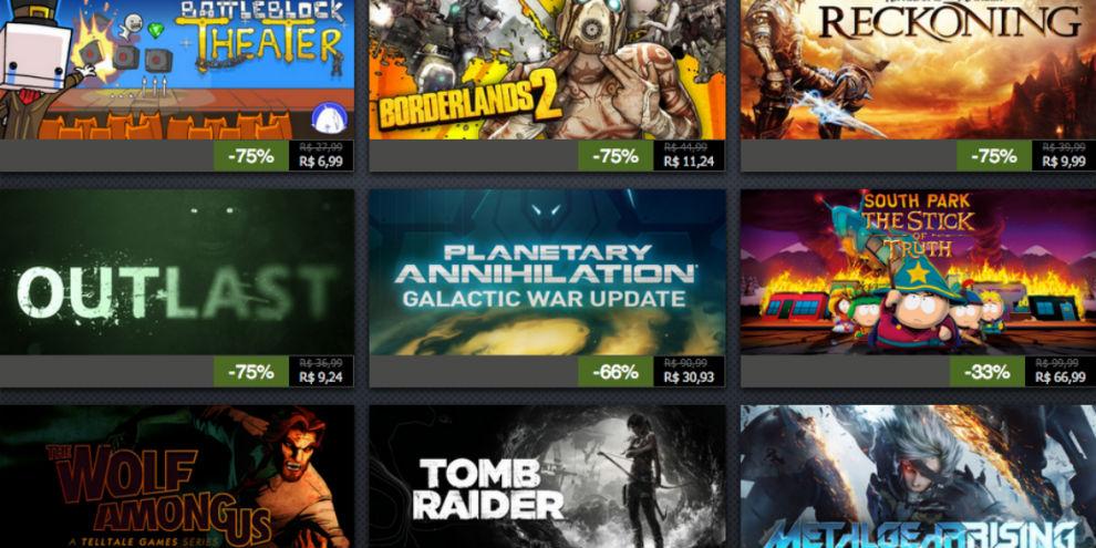 Imagem de Confira as ofertas do quarto dia da Promoção de Férias do Steam no site TecMundo