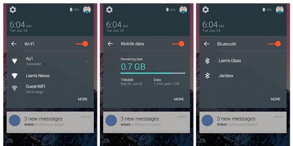 Imagem de Veja as primeiras imagens do Android 5.0 vazadas antes do evento no site TecMundo