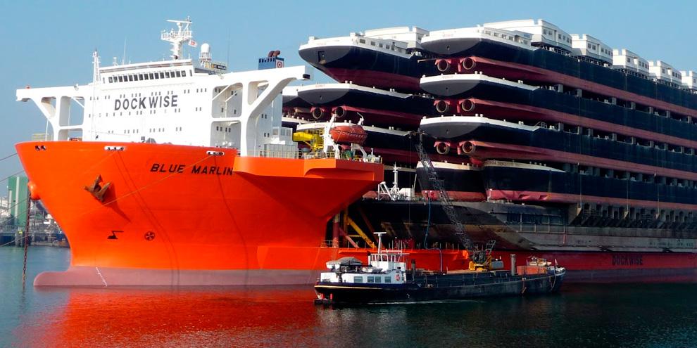Imagem de Blue Marlin, o incrível navio capaz de transportar outras embarcações no site TecMundo