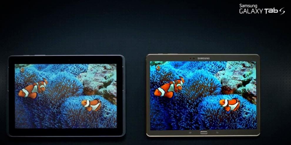 Imagem de Novo comercial da Samsung mostra a qualidade do display do Galaxy Tab S no site TecMundo