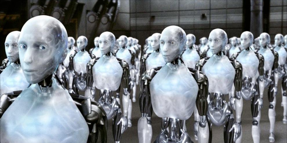 Imagem de Robôs devem substituir humanos na fabricação do iPhone 6 no site TecMundo