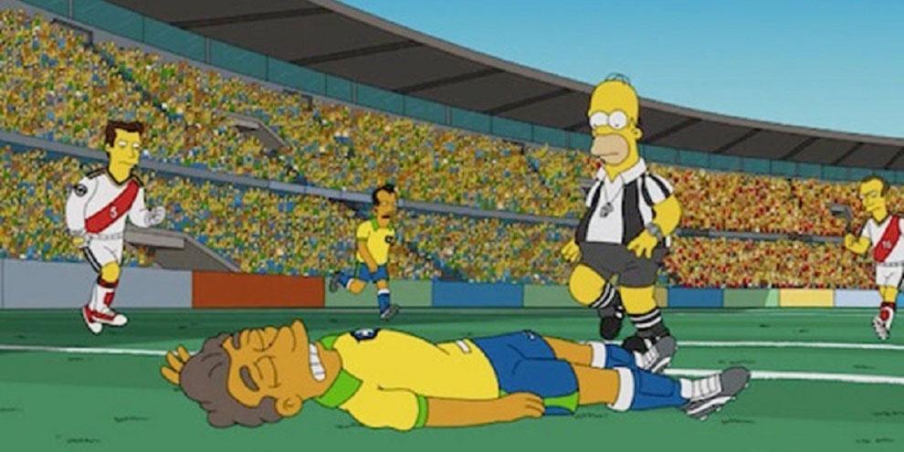 Imagem de Episódio dos Simpsons previa a derrota do Brasil para a Alemanha na Copa no site TecMundo