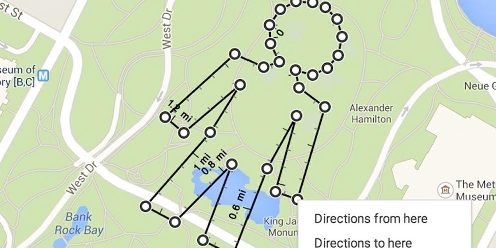 Imagem de Google Maps agora permite calcular a distância entre pontos no mapa no site TecMundo