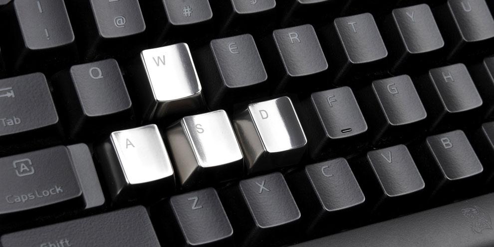 Imagem de Tt eSPORTS METALCAPS: acessório coloca teclas de metal em seu teclado no site TecMundo