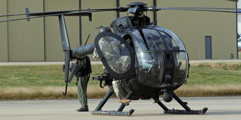 Imagem de MH-6 Little Bird: o helicóptero de combate pequeno e super-rápido no site TecMundo