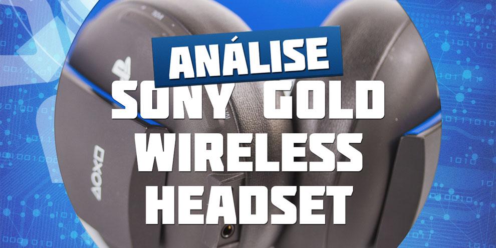 Imagem de Análise: Sony PlayStation Gold Wireless Headset no site TecMundo