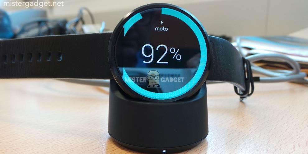 Imagem de Imagens mostram como funcionará o carregamento da bateria do Moto 360 no site TecMundo