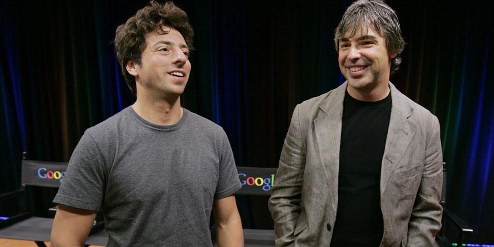 Imagem de Larry Page e Sergey Brin aceitam desafio de Nadella e tomam banho gelado no site TecMundo