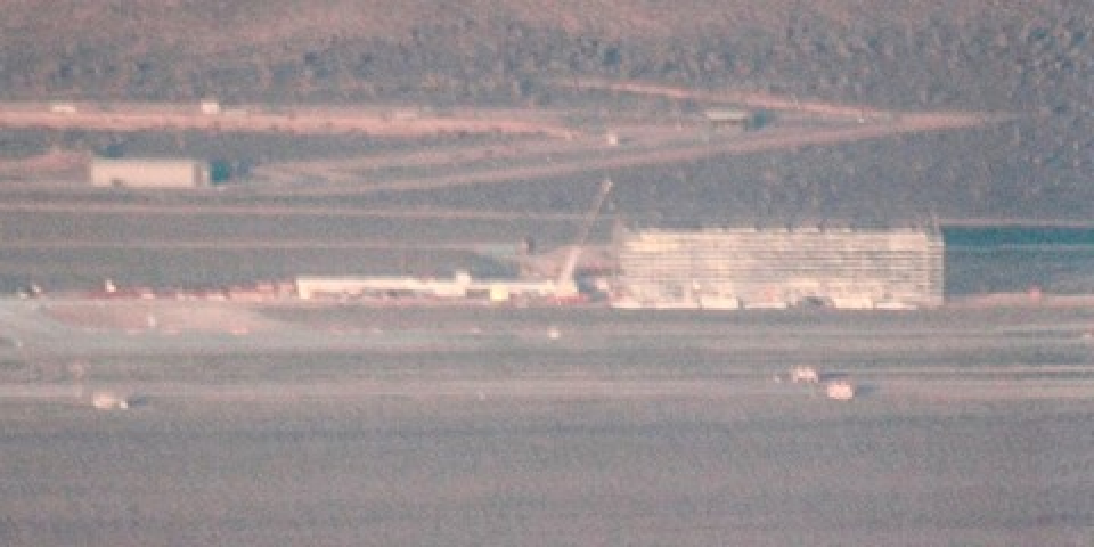Imagem de Área 51: construção de misterioso galpão é flagrada por fotógrafos; veja no site TecMundo