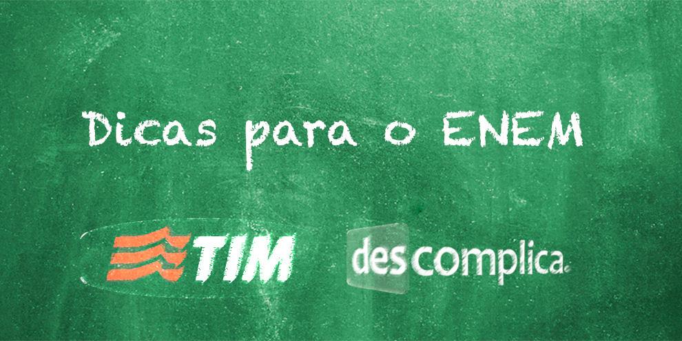 Imagem de TIM e Descomplica lançam serviço com dicas para o ENEM no site TecMundo
