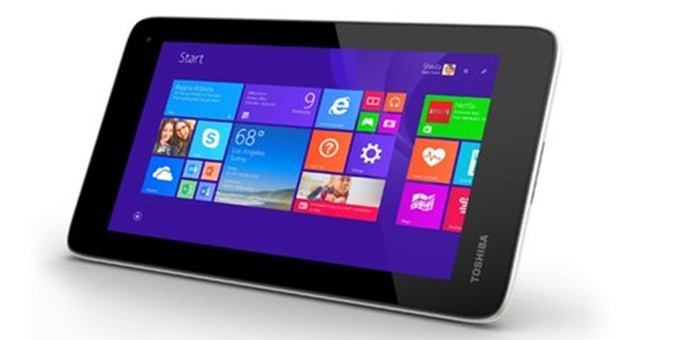 Imagem de Toshiba Encore mini: pequeno tablet com Windows 8 custa apenas US$ 120 no site TecMundo