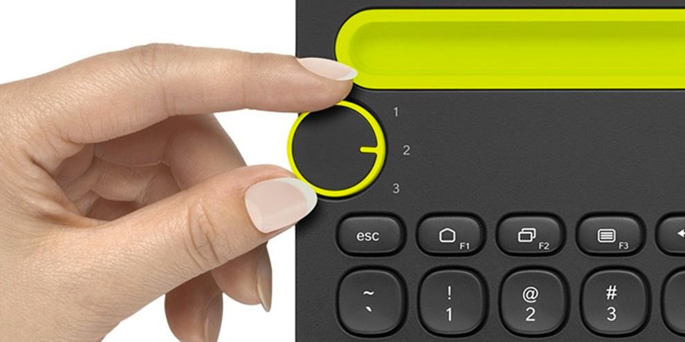Imagem de Teclado da Logitech interage com até três aparelhos ao mesmo tempo no site TecMundo