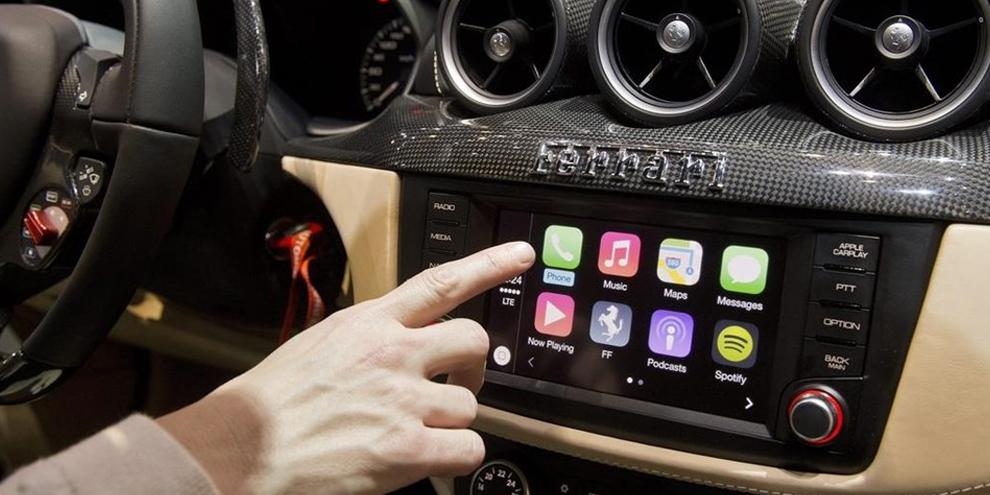 Imagem de CarPlay: sistema da Apple chega a um consumidor em Ferrari de R$ 674 mil no site TecMundo