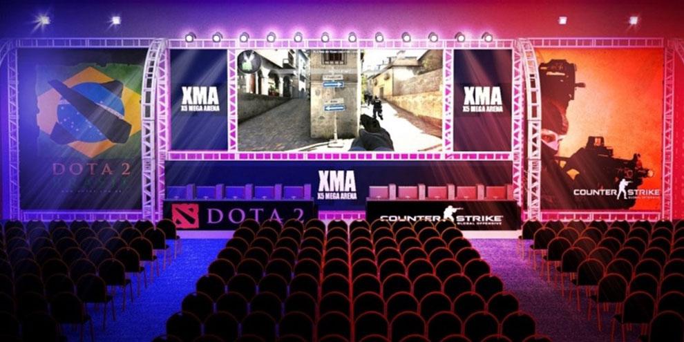 Imagem de XMA X5 Mega Arena terá torneio de Dota 2 e Counter-Strike: Global Offensive no site TecMundo