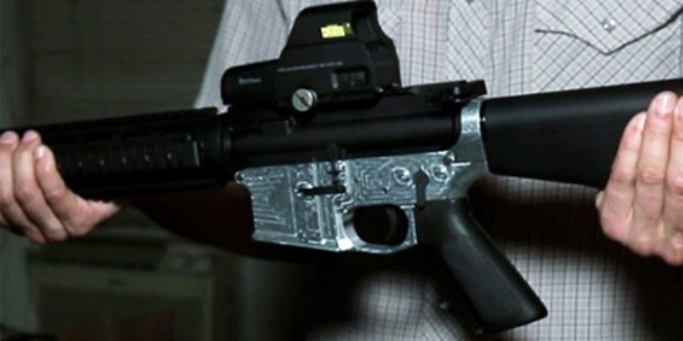 Imagem de Impressora 3D faz rifle AR-15 de metal e é comercializada por 1.200 dólares no site TecMundo