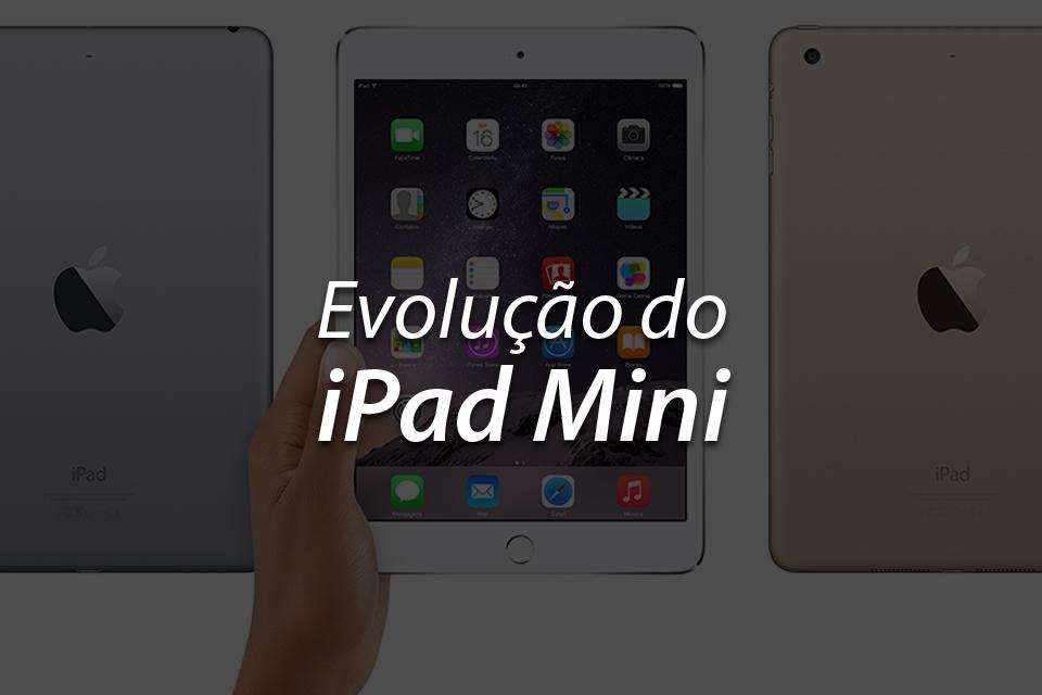 Imagem de A evolução do iPad Mini no site TecMundo