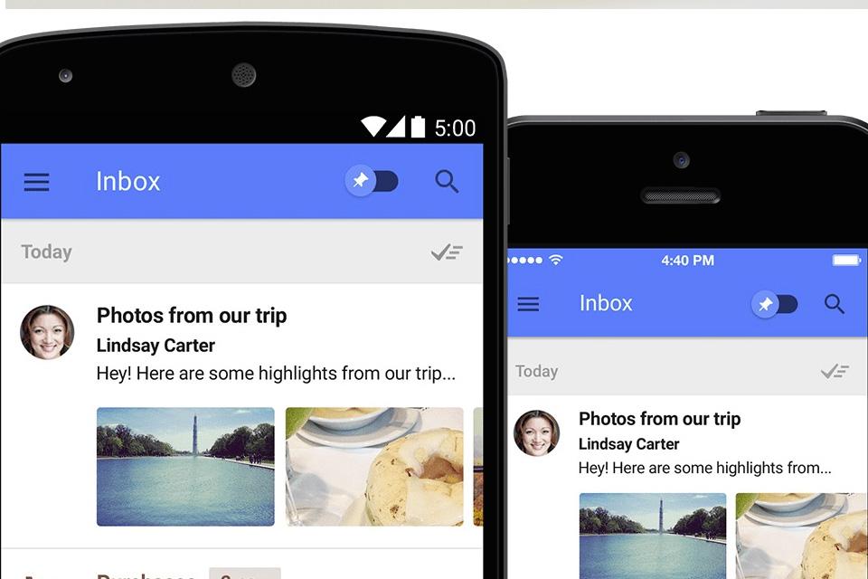 Imagem de Google já está enviando novos convites para o serviço Inbox no site TecMundo