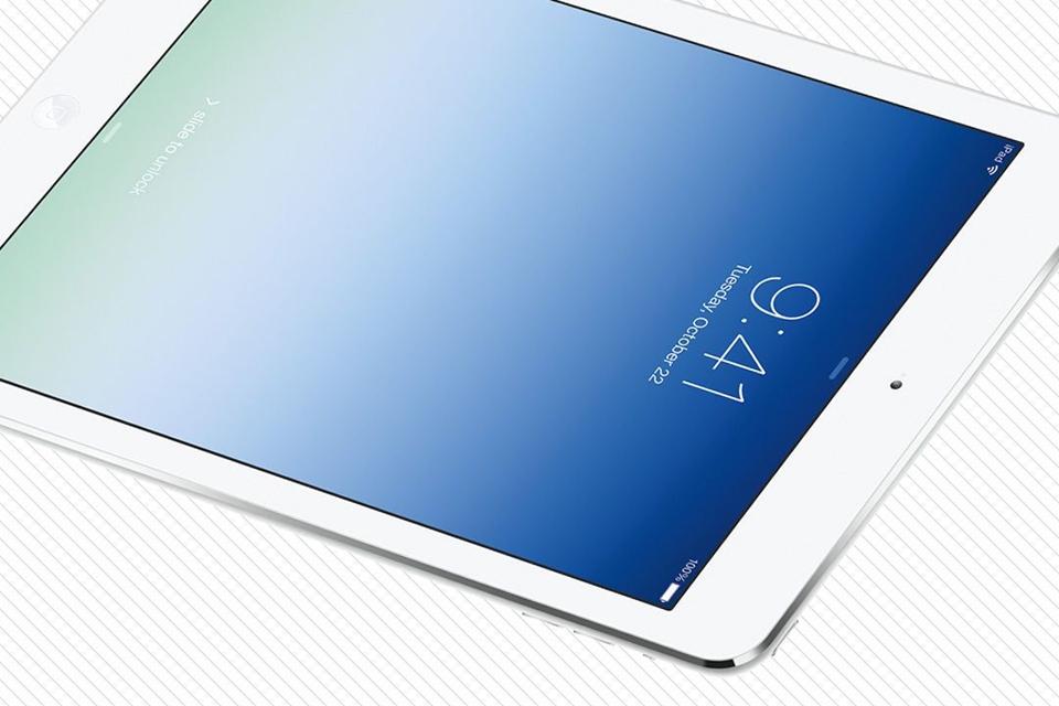 Imagem de Testes com display do iPad Air 2 impressionam; já o iPad mini 3 decepciona no site TecMundo