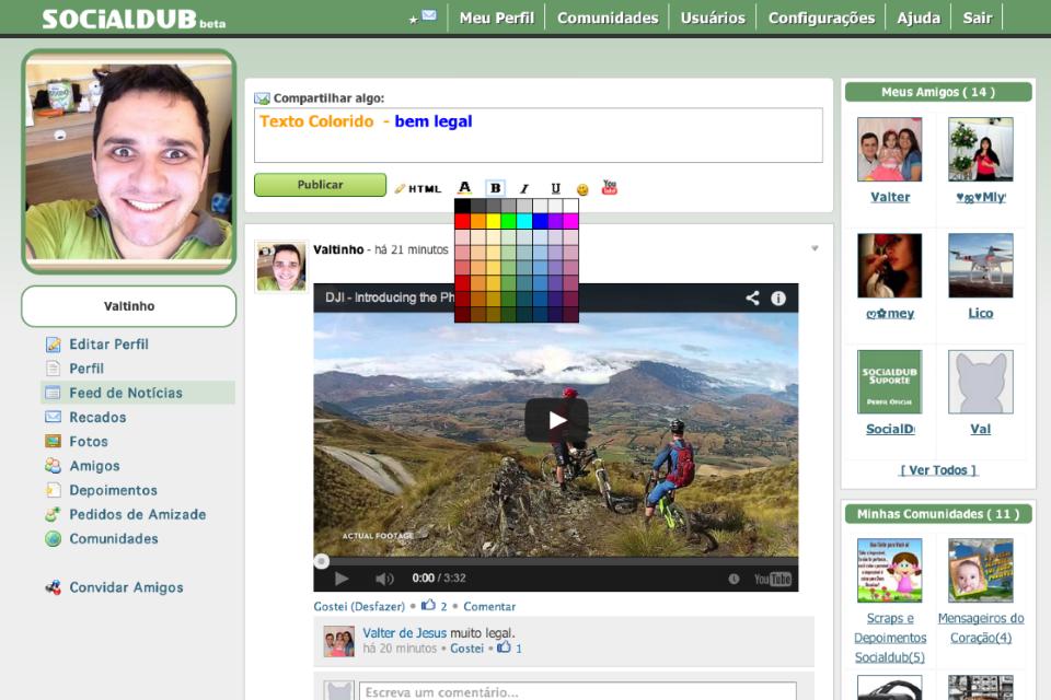 Imagem de Social Dub: rede social brasileira promete ser o novo Orkut no site TecMundo