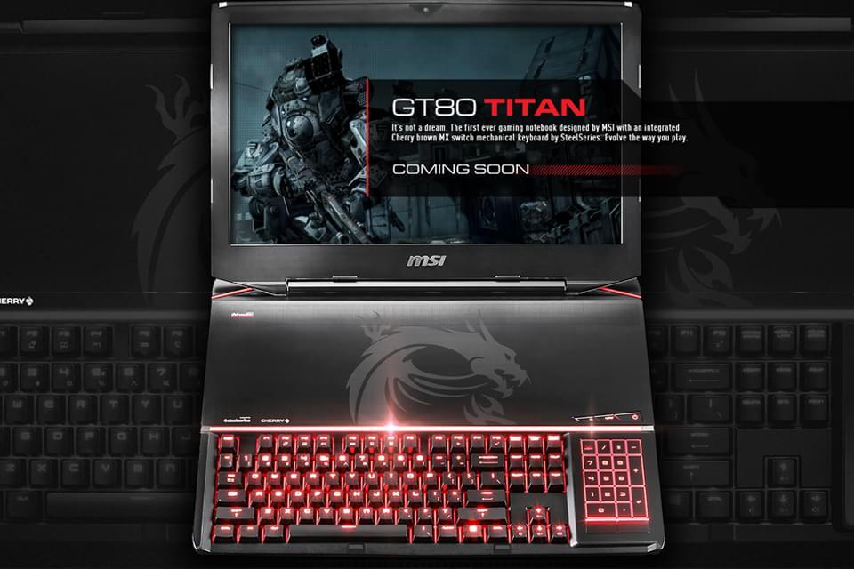 Imagem de MSI anuncia o GT80 Titan, o primeiro notebook gamer com teclado mecânico no site TecMundo