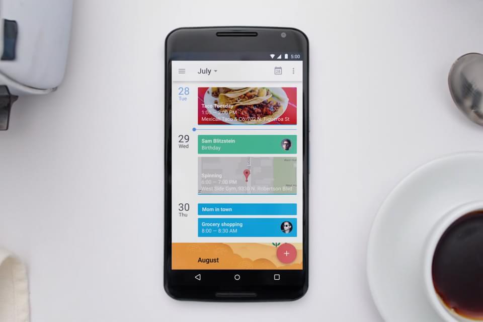 Imagem de App do Google Calendar é totalmente remodelado [vídeo] no site TecMundo