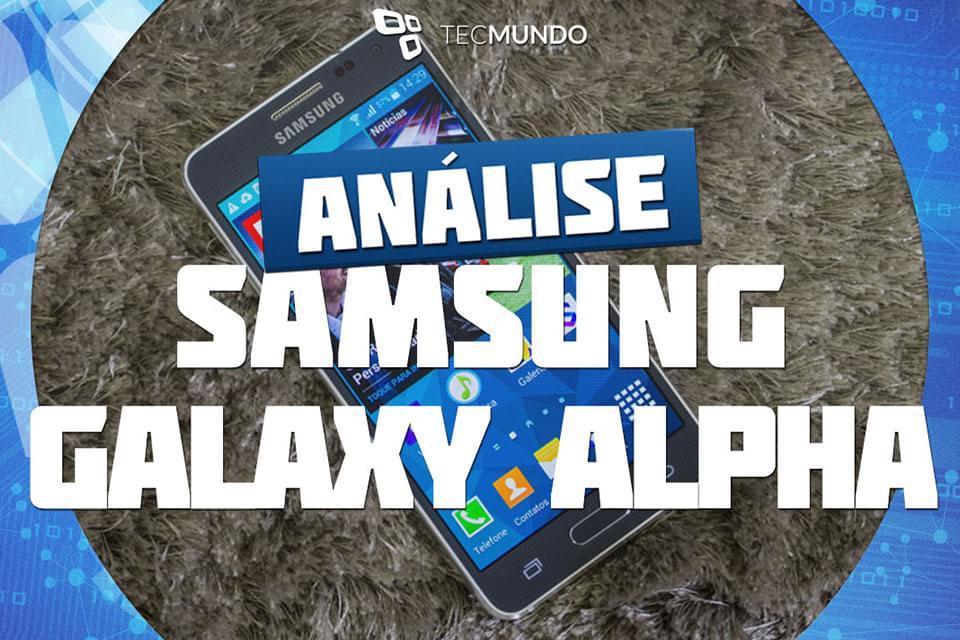 Imagem de Análise: smartphone Samsung Galaxy Alpha [vídeo] no site TecMundo
