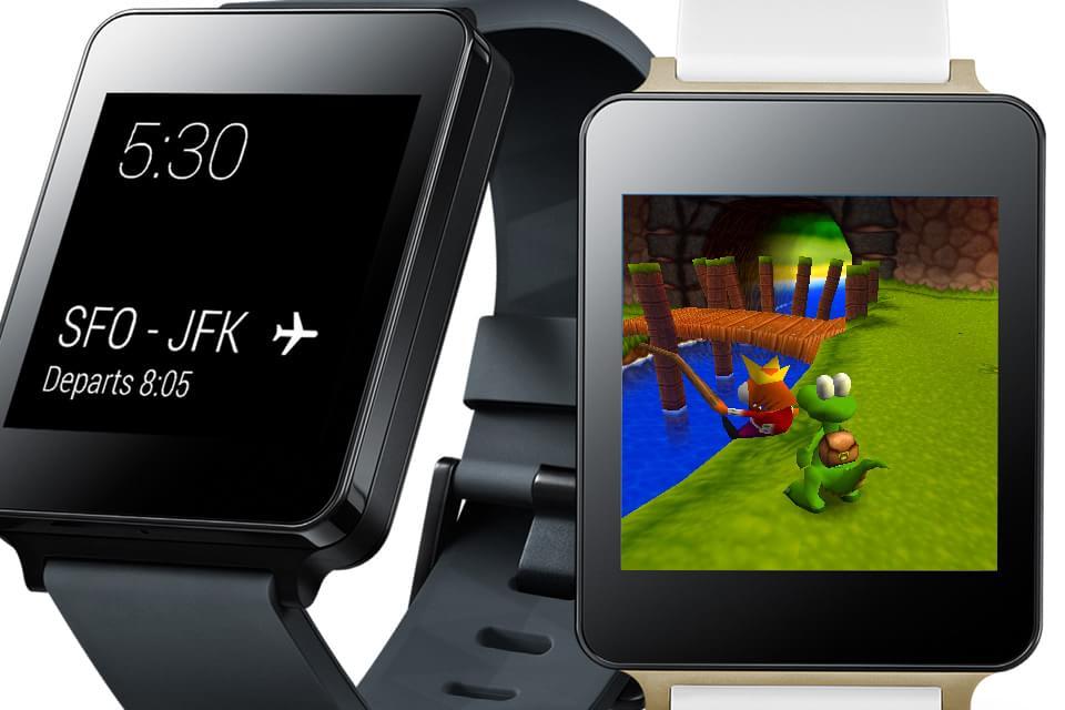 Imagem de Que tal jogar títulos do PlayStation no LG G Watch? Tem gente que conseguiu no site TecMundo