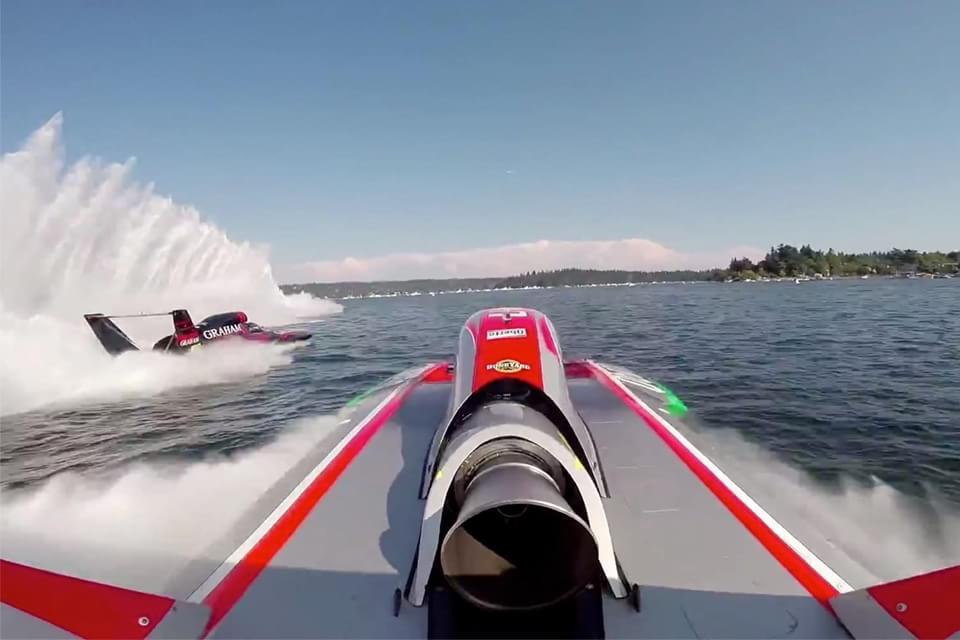 Imagem de Vídeo: assista a um acidente na corrida de barcos mais rápida do mundo no site TecMundo