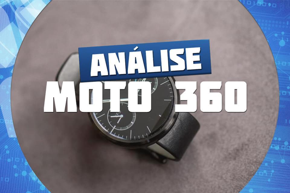 Imagem de Análise: smartwatch Motorola Moto 360 [vídeo] no site TecMundo